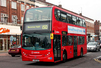 Route 150, Arriva London, T184, LJ60AUN, Barkingside