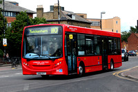 Route 110,  London United RATP, DLE24, SN60ECT, Hounslow