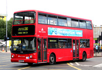 Route 330, East London ELBG 17203, V203MEV, Canning Town