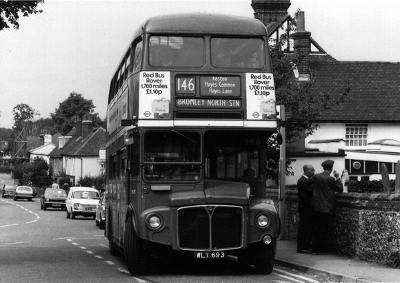 Route 146, London Transport, RM693, WLT693, Downe