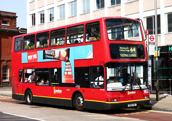 London Bus Routes Route 44 Tooting Station Victoria