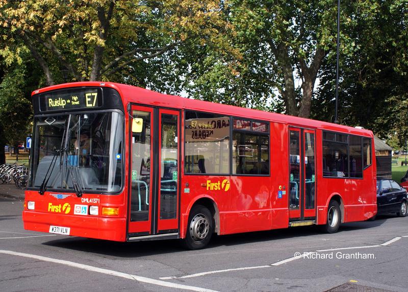 London Bus Routes Route E7 Ealing Broadway Ruislip