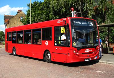 Route 126, Metrobus 756, YX13AHD, Bromley