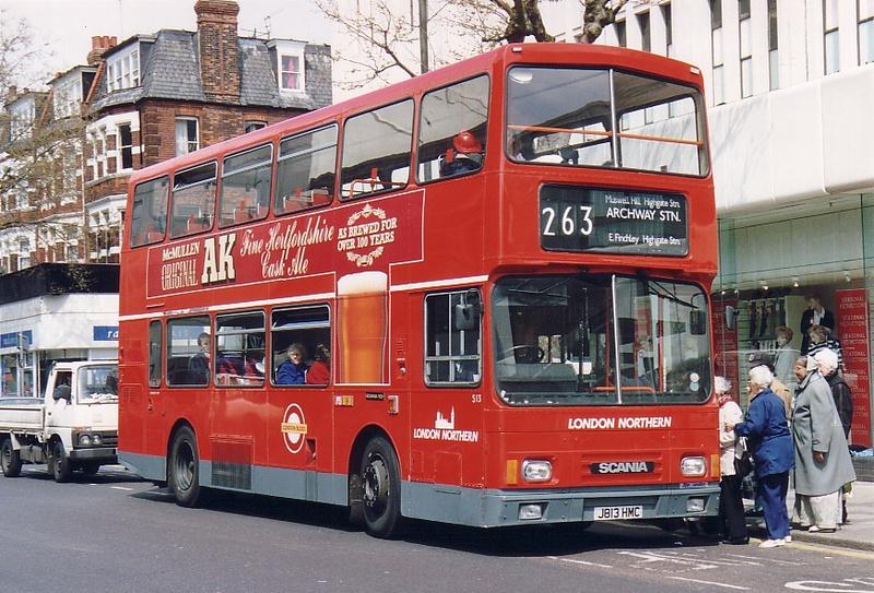London Bus Routes Route 263 Barnet Hospital Highbury