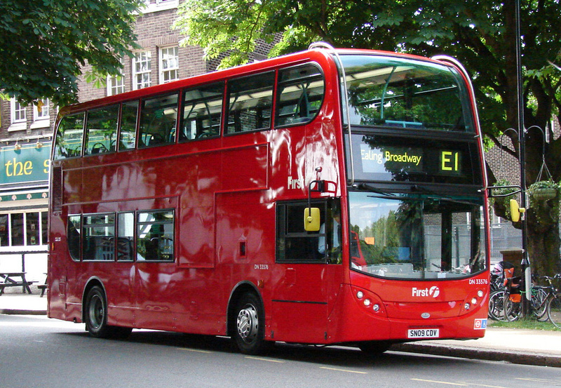 London Bus Routes Route E1 Ealing Broadway Greenford