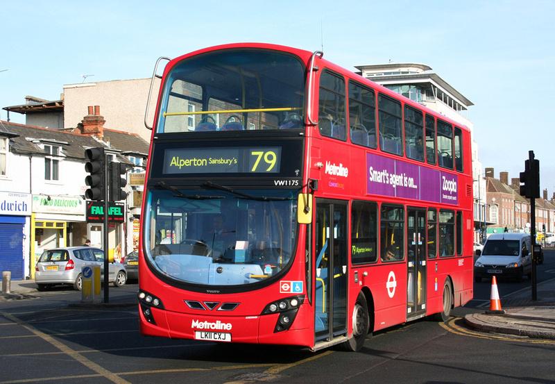 London Bus Routes Route 79 Alperton Sainsbury S Edgware