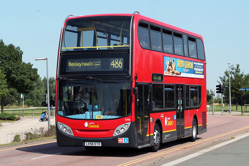 London Bus Routes Route 486 Bexleyheath Shopping