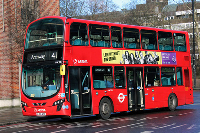 Route 41, Arriva London, DW325, LJ60AYE, Archway