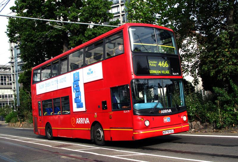London Bus Routes Route 466 Addington Village