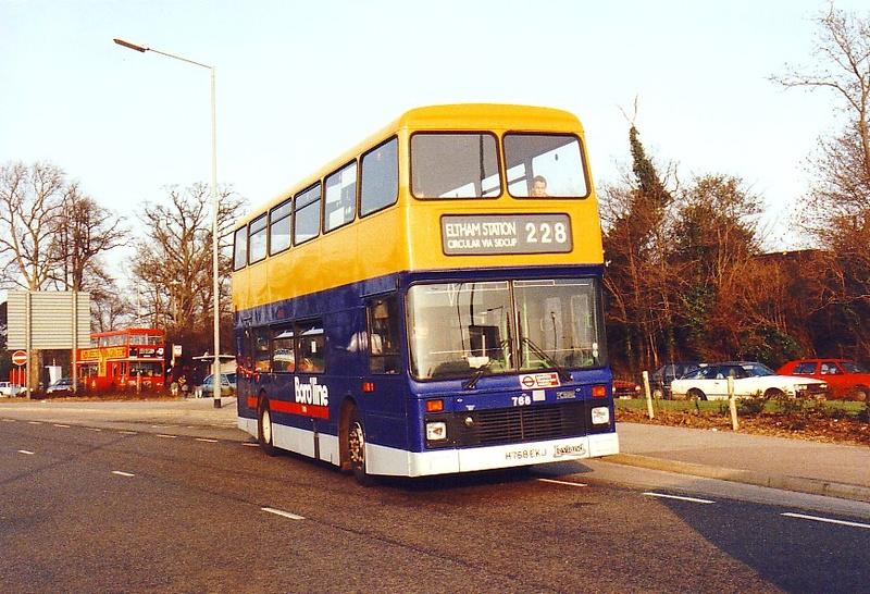 London Bus Routes Route 228 Chislehurst Eltham