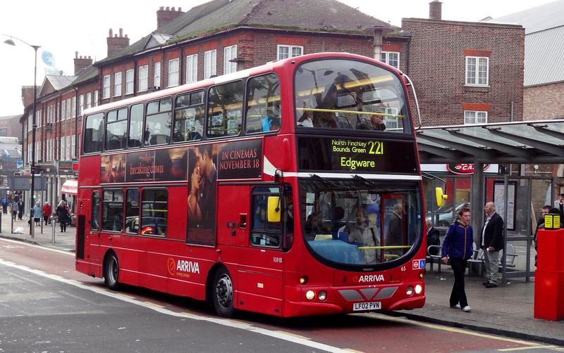 london bus routes route 221 edgware turnpike lane station. Black Bedroom Furniture Sets. Home Design Ideas