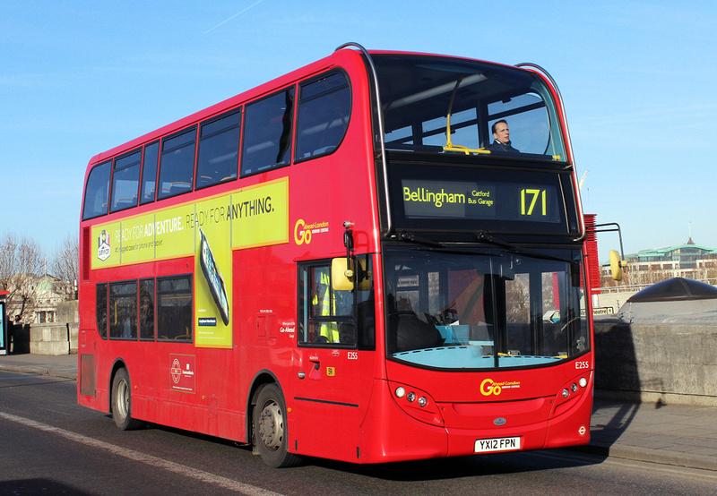 London Bus Routes Route 171 Bellingham Catford Bus