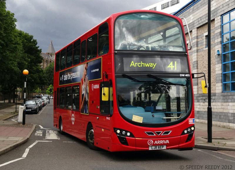 London Bus Routes Route 41 Archway Tottenham Hale