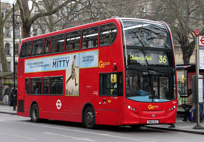 London Bus Routes Route 36 New Cross Gate Queen S Park