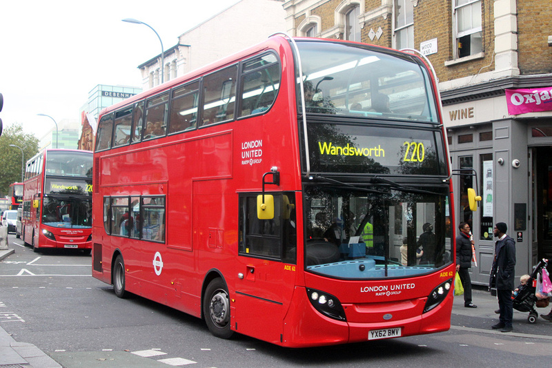 London Bus Routes Route 220 Wandsworth Willesden