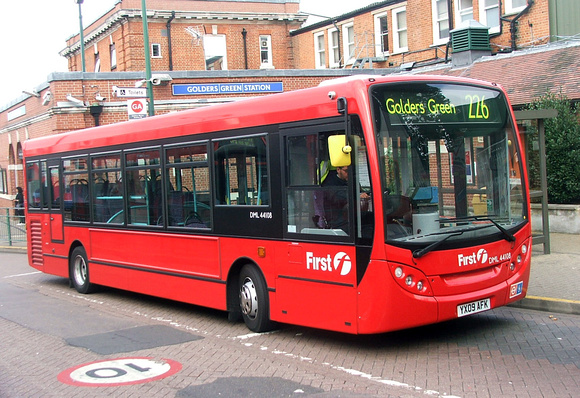 Route 226, First London, DML44108, YX09AFK, Golders Green