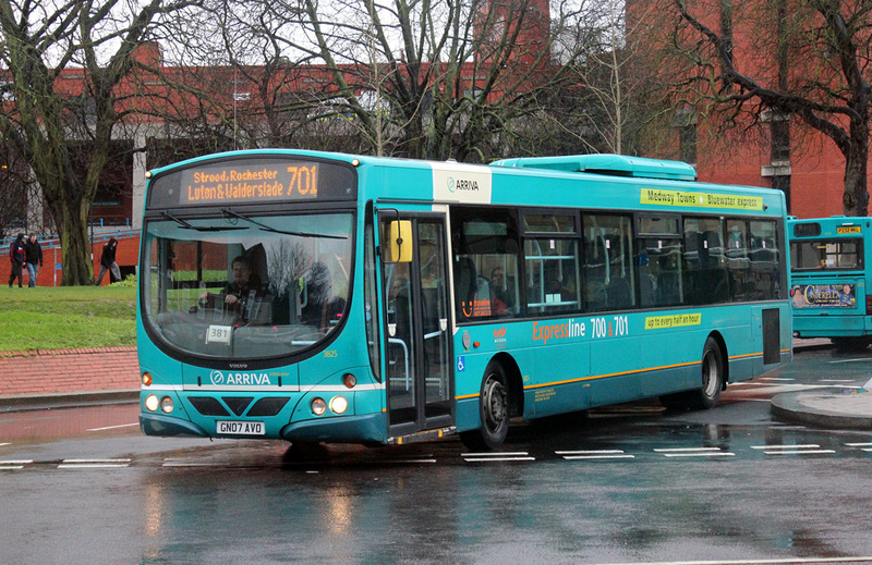 London Bus Routes | Arriva In Kent | Route 701, Arriva Kent