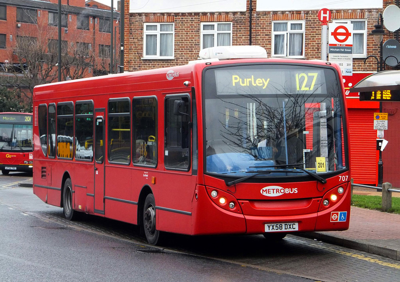 London Bus Routes Route 127 Purley Tooting Broadway
