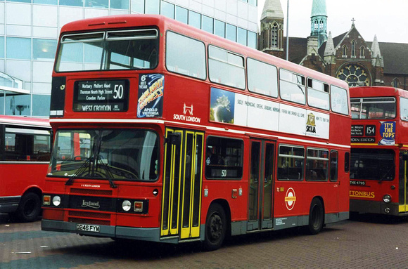 Route 50, South London Buses, L246, D246FYM, West Croydon