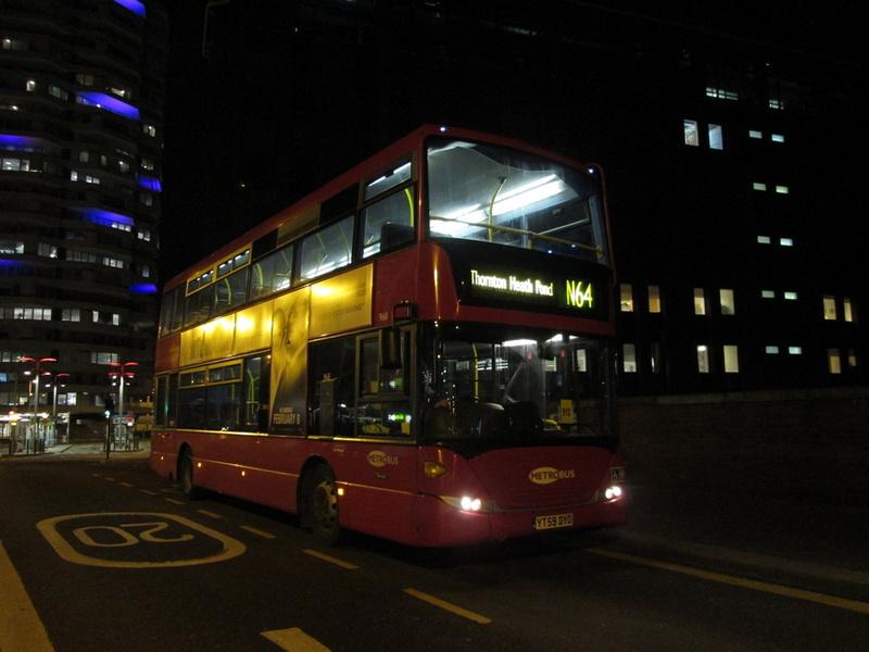 London Bus Routes Route N64 New Addington Homestead