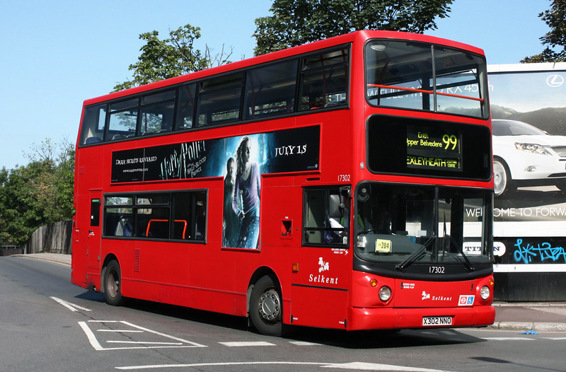 London Bus Routes Route 99 Bexleyheath Shopping Centre