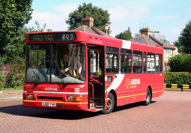 London Bus Routes Route 192 Enfield Tottenham Hale