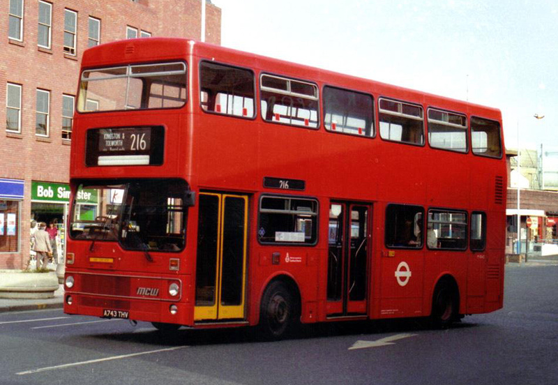 London Bus Routes Route 216 Kingston Staines