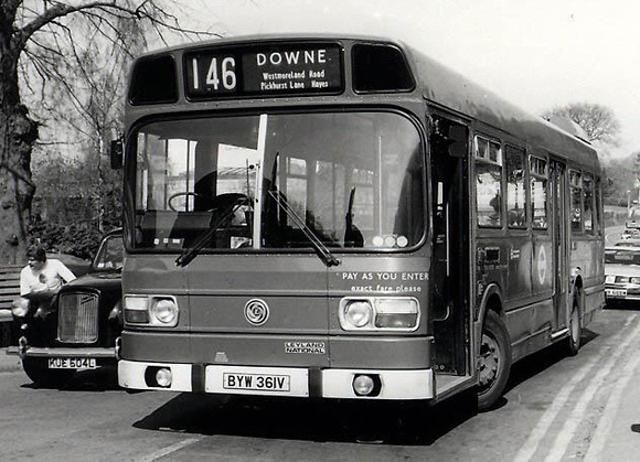Route 146, London Transport, LS361, BYW361V, Downe
