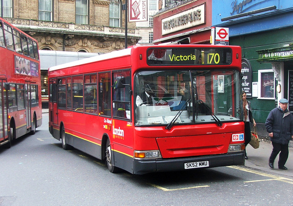 Route 170, London General, LDP211, SK52MMU, Victoria