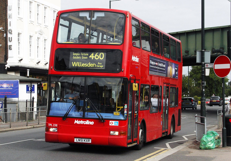 London Bus Routes Route 460 North Finchley Willesden