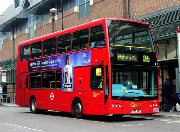 London Bus Routes | Route 126: Bromley Town Centre - Eltham