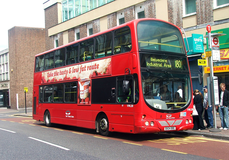 London Bus Routes Route 180 Belvedere Industrial Area
