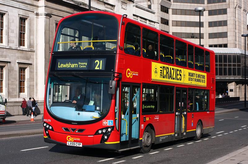 London Bus Routes Route 21 Lewisham Shopping Centre