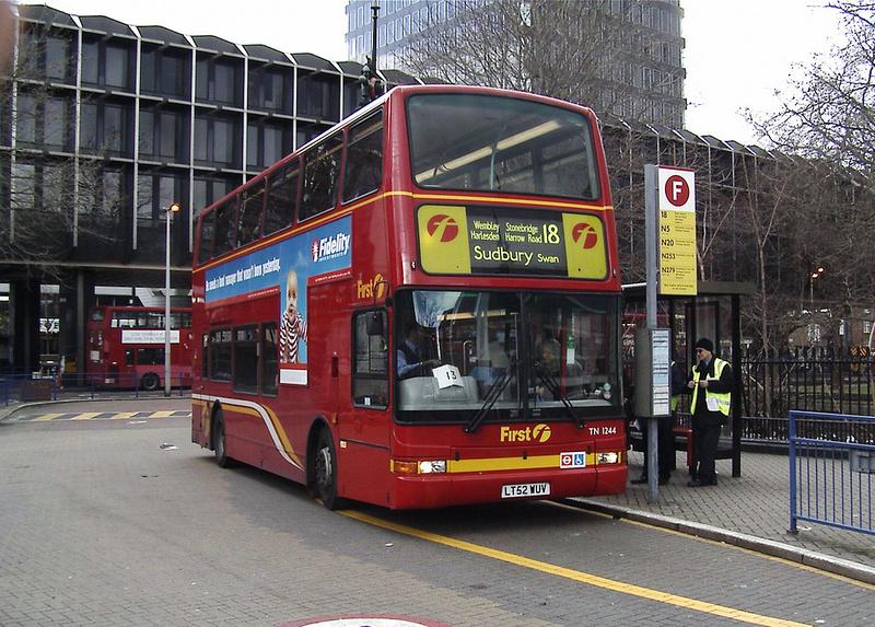 London Bus Routes Route 18 Euston Sudbury