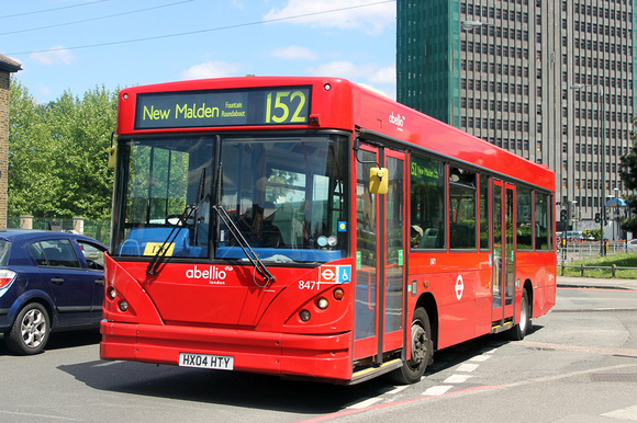 London Bus Routes Route 152 New Malden Fountain