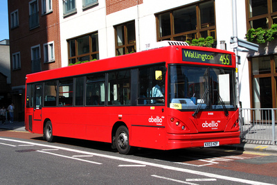 Route 455, Abellio London 8488, KX03HZF, Croydon