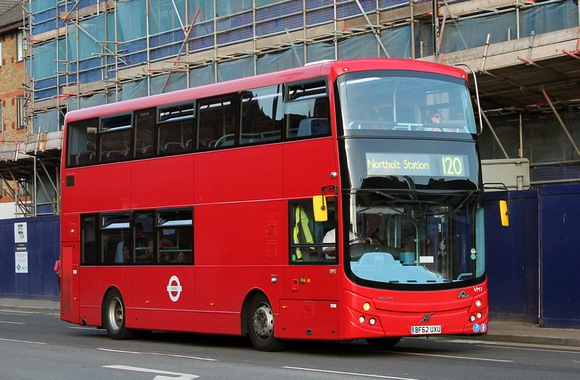 Route 120, London United RATP, VM1, BF62UXU, Hounslow