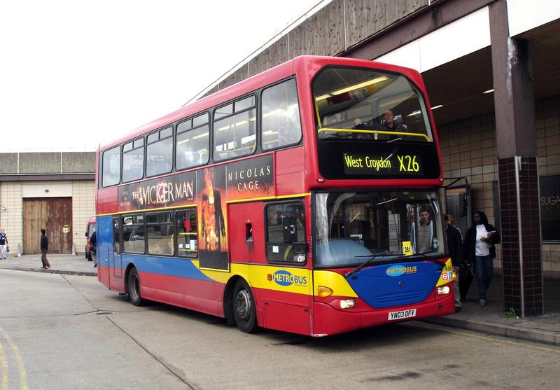 London Bus Routes Route X26 Heathrow Central West Croydon
