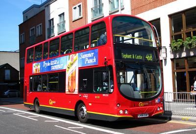 Route 468, Go Ahead London, WVL251, LX06EAW, Croydon