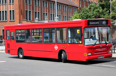 Route 419, London United RATP, DPS702, SN55HKE, Hammersmith