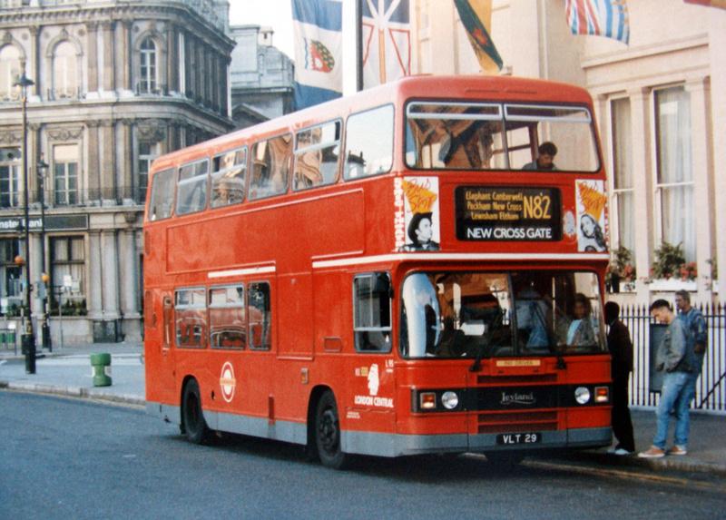 buses from trafalgar square pdf