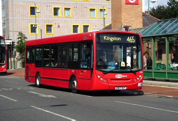 London Bus Routes Route 465 Dorking Kingston Route