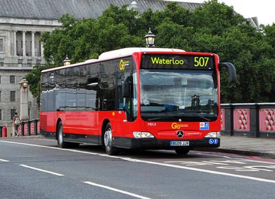 London bus routes go ahead london mercedes citaro mec - Mercedes benz garage london ...