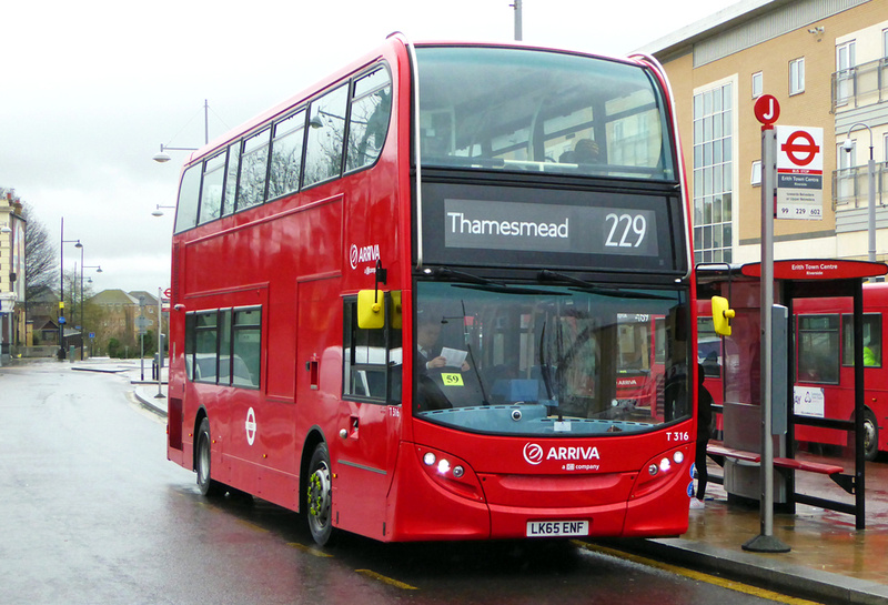 London bus routes route 229 queen mary 39 s hospital for Time table bus 99