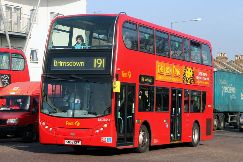 London Bus Routes Route 191 Brimsdown Edmonton Green