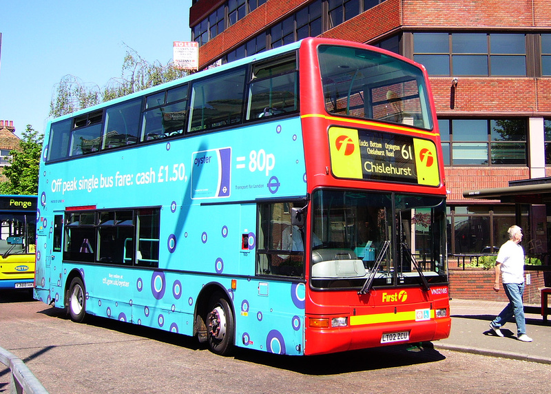 London Bus Routes Route 61 Bromley North Chislehurst