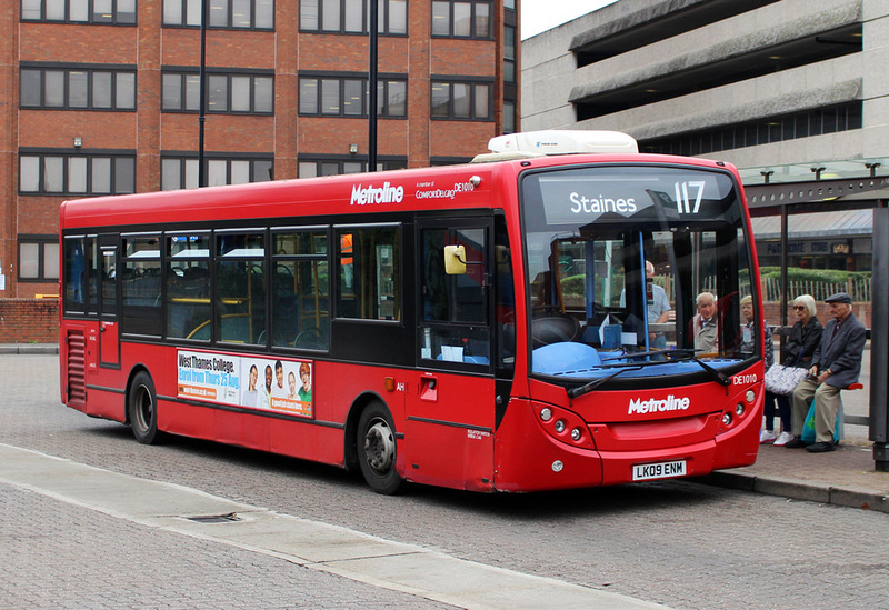 London Bus Routes Route 117 Staines West Middlesex