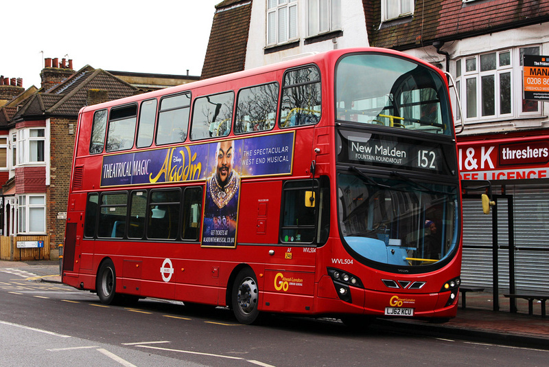 London Bus Routes Latest Photographs March 2017 Route
