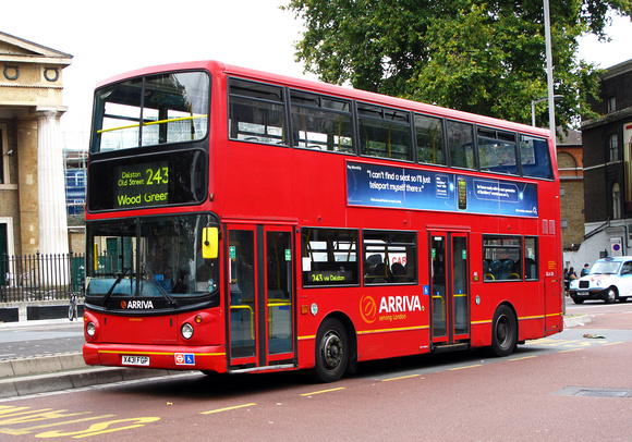 Route 243, Arriva London, DLA231, X431FGP, Waterloo