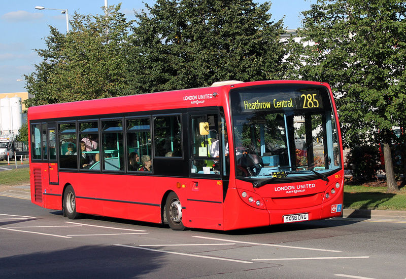 London Bus Routes Route 285 Heathrow Central Kingston